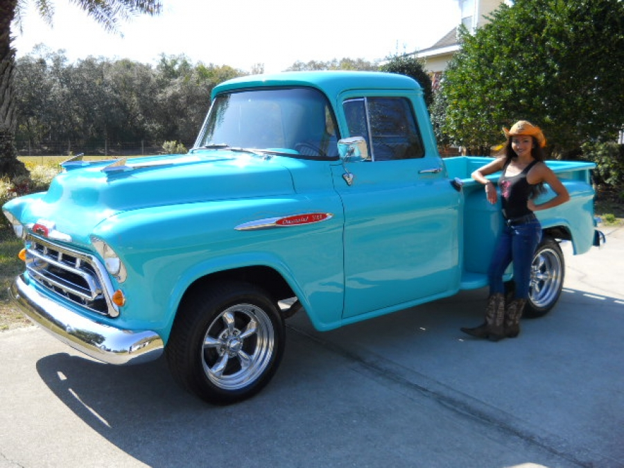 57 chevy pickup 4x4 for sale autos post. Black Bedroom Furniture Sets. Home Design Ideas