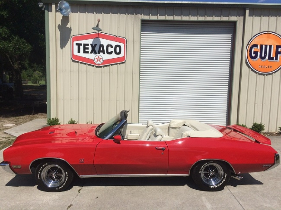 1972 Buick GS 455 Stage I Convertible